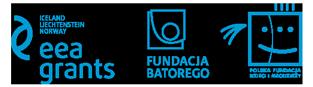 Logotypy EEA Grants, Fundacji Batorego, Polskiej Fundacji Dzieci i Młodzieży